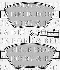 BBP2243 BORG & BECK FRONT BRAKE PADS fits Fiat Punto Evo 01/10- NEW O.E SPEC!