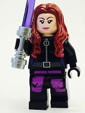 LEGO STAR WARS MARA JADE LUKE SKYWALKER S WIFE JEDI CUSTOM 100% NEW LEGO PARTS