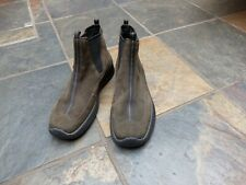 Ecco Chelsea Boots - Size 4 - 37 - Nubuck Leather - Classic Rugged Design