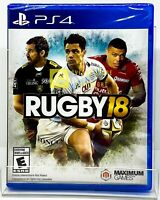 Rugby 18 - PS4 - Brand new | Factory Sealed