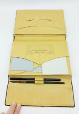 More details for vintage antique letter writing wallet with pens