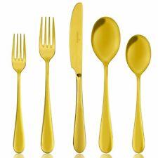 Gold Cutlery 1 Set , Gold Flatware 1 Set, Heavy Duty Stainless Steel Flatware