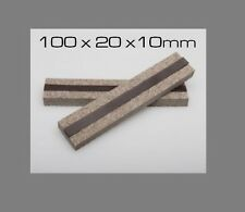 100x20x10mm VFG Weapon Care Magnetic Felt Clamps for Vises