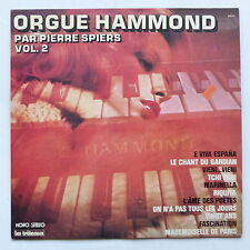 Orgue Hammond par PIERRE SPIERS Vol 2 6233