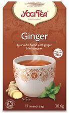 Yogi tea gingembre bio - 17 sacs