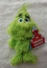 "BarkBox Dog Toy Young Grinch Green 7"" Tall Collection Christmas New * Nwt Vhtf"