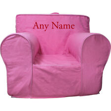 Insert For Anywhere Chair + Hot Pink Cover Regsize Embroidered Red