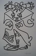 LAPICQUE Charles - Lithographie lithograph signée numérotée premier chagrin ++