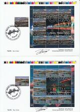 TRANSNISTRIA  2018 EUROPA .BRIDGES .Samples with an autographed artist RARE