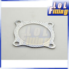 "3"" 4-BOLT HIGHTEMP EXHAUST GASKET TURBO/MANIFOLD/HEADER DOWN/DUMP PIPE FLANGE"