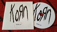 KORN  ** Word Up ** VERY RARE 2004 Cardsleeve PROMO CD SINGLE