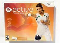 NINTENDO WII EA SPORTS ACTIVE Personal Trainer Complete.