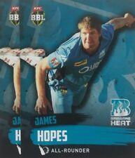 2015 Tap n Play ... BASE CARD ... BRISBANE  Heat.... JAMES HOPES