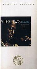 Davis, Miles Kind of Blue GOLD CD Mastersound SBM Longbox nur CD Neu OVP Sealed