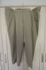 Pleated Mid Rise Big & Tall 30L Trousers for Men