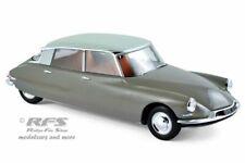 Citroen DS 19  1959  Marron Clace  Blanc Carrare  1:18  Norev 181481 NEU