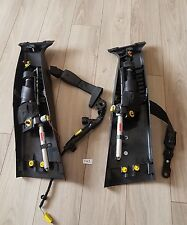 VOLVO S40 Drive  Front Driver Side Seat Belts Left Right 2010 5 door model