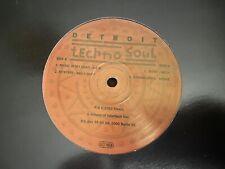 Detroit Techno Soul EP - Various: A.E.S, Shake - Tresor - Vinyl 12'' 1993 - EX