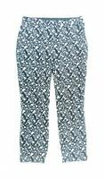 Atmosphere Womens Size 10 Grey Floral Cotton Capri