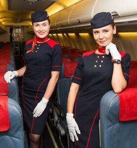 Azur Air Stewardess Uniform Dress
