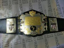 New AWA Championship Belt, Adult Size & Metal Plates