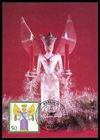 BRD MK WEIHNACHTEN CHRISTMAS NOEL ENGEL MAXIMUMKARTE MAXIMUM CARD MC CM az94