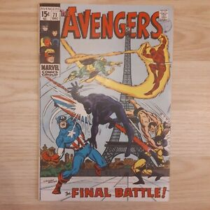 Avengers (1st Series) #71 - [The Invaders + Black Knight + Kang]