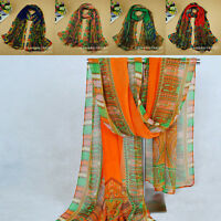 New Fashion India style Lady Long Wrap Women's Shawl Chiffon Scarf Scarves