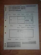 Kenwood Service Manual~CD-2260M/2280M~DPF-J7010/J9010 CD Player~Original