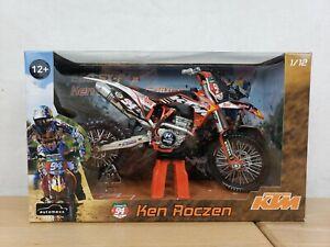 1/12 #94 KEN ROCZEN KTM 250 SXF 2011 Motorcycle redbull Diecast Model motocross