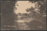 Postcard Wareham near Poole Dorset early view of East Walls by MJRB