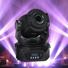 30W LED Spot Moving Head Light Rainbow Gobo Club DJ Stage DMX 12CH Master/Save