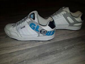 Globe Shoes Tilt Skater Sneaker 42.5 Weiß Blau
