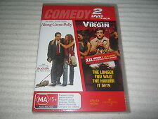 Along Came Polly / The 40 Year Old Virgin - Brand New & Sealed - R4 - DVD