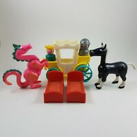 1976 VINTAGE Fisher Price Little People Castle #993 dragon replacements