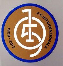 2013 Inter Milan 105 ans anniversaire Official Stilscreen football badge patch