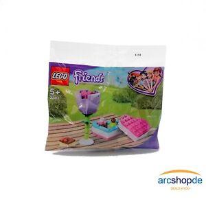 LEGO® Friends 30411 - Pralinenschachtel und Blume - Polybag - NEU & OVP