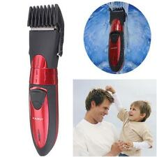 Washable Electric Rechargeable Mens Shaver Beard Hair Clipper Trimmer Set US