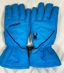 Spyder Boy's Ski/Snow Performance Blue Gloves ~ New