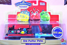 LEARNING CHUGGINGTON WOODEN MAGNETIC TRAIN- OLD PUFFER PETE HEAD + TENDER