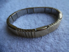 Major Stainless Magnetic Bracelet Gold Tone Flexible 160-31BB10