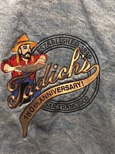 RARE Tadich's 150th Anniversary San Francisco Denim Jean Jacket Men's Sz Medium