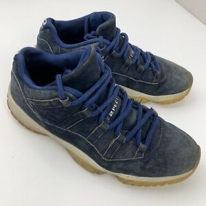 Air Jordan 11 XI Retro RE2PECT Derek Jeter Men's Shoes Size 11 Blue AV2187-441
