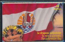 TELECARTE POLYNESIE PF73 DRAPEAU GEM1A