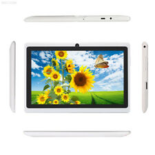 """New Cheap 7"""" Quad Core Android 4.4 Tablet PC 1+16GB Bluetooth Dual Cam White AU"""