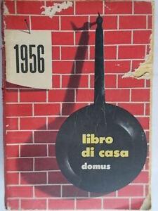 Libro di casa 1956 agendadomus moda cartamodelli ricette cucina onomastico casa