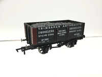 Dapol/David Dacey OO Gauge 7 Plank Wagon Trimsaran Anthracite