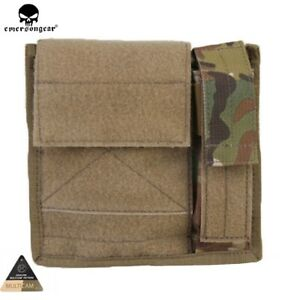 Emerson MOLLE Tactical SAF Admin Panel Map Multi-purpose Hunting Mag Pouch Bag