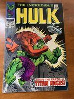 INCREDIBLE HULK #106 (Marvel 8/1968)
