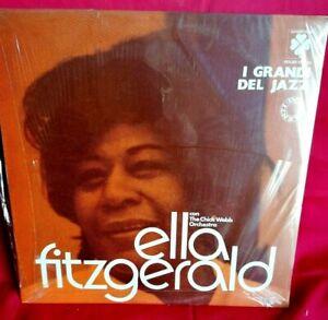 ELLA FITZGERALD The Chick Webb Orchestra LP 1976 ITALY MINT